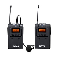 BOYA BY-WM6 Ultra High Frequency UHF Wireless Lavalier Microphone System for Canon Nikon Sony DSLR