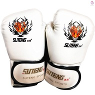 Boxing Gloves Kick Boxing Muay Thai Punching Training Bag Gloves Outdoor Sports Mittens Boxing Practice Equipment for Punch Bag Sack Boxing Pads for Men and Women