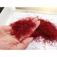『Ready Stock』6 Grams Organic Persian Saffron Premium Quality (6Grams)-Iran Saffron