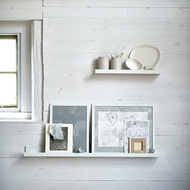 [ IKEA代購]MOSSLANDA 畫框壁架--白色