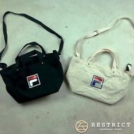 FILA 日系手提帆布包 側背包 斜背包 手提包 兩色 男女可用