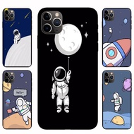 IPhone12 Pro Max 12mini  12 / 12 Pro astronaut Casing Soft Case Cover