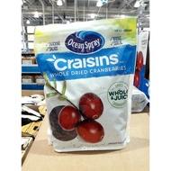 BLANC_COSTCO 好市多 美國 Ocean Spray 優鮮沛 全果蔓越莓乾 1.36公斤/袋