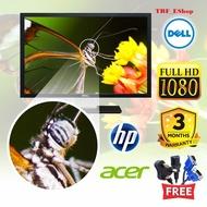 """23"""" LED Monitor Refurbished Grade A ( HP DVI , VGA ; GreenHouse HDMI, Mitsubishi  HDMI )"""