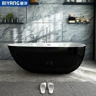浴缸家用成人小戶型獨立小浴盆情侶歐式1.3米衛生間網紅浴池 薇薇MKS