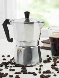 เครื่องชงกาแฟเอสเพรสโซ่ มอคค่า ขนาด150 ml กาต้มกาแฟสดเครื่องชงกาแฟสด เครื่องทำกาแฟ แบบปิคนิคพกพา ใช้ทำกาแฟสดทานได้ทุกที หม้องชงกาแฟ หม้อต้มกาแฟสด