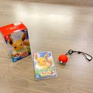 Switch 精靈寶可夢(伊布)+精靈球Plus組合包