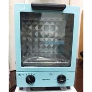 日本松木立式雙層電烤箱12L