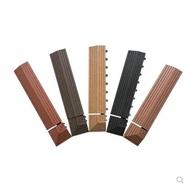 【家家樂生活館】塑木地板 DIY小地板木塑封邊條 收邊條 壓線條 配件 木塑踢腳線