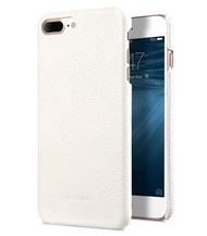 Melkco. - Apple iPhone 8 Plus / 7 Plus 高級荔枝紋真皮手機背殼 (白色)