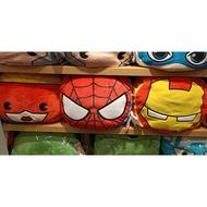 miniso代購 漫威 漫威系列 卡通抱枕 蜘蛛人 驚奇隊長 鋼鐵人 雷神 美國隊長 27cm
