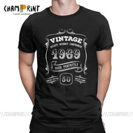 50Th Birthday Gift Gold Vintage 1969 Aged Ly 50 Years Old T Shirt T Shirt Tops