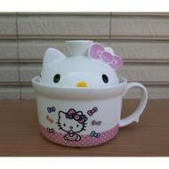 Hello Kitty造型泡麵碗