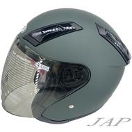 GP5 225 素 消光夜幕綠 素色  安全帽 超輕量 GP-5 225
