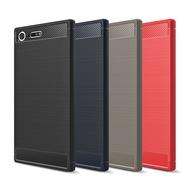 Sony Xperia XZ XZs XZ1 XZ2 XZ3 Compact Premium 軟殼保護殼TPU按鍵手機殼