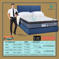 "FREE GIFT/King Koil Mattress Hgt 12""/30cm Durable Chiropratic Coil System/body support/King/Queen/Super Single/Single"