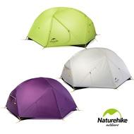 NH[送地布]雙人 雙層防雨20D矽膠帳篷 蒙加2