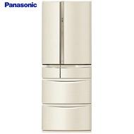 【感恩有禮賞】Panasonic 國際 NR-F604VT-N1 電冰箱 6門 香檳金 601L鋼板系列
