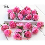 仿真花小茶包人造花 絹花DIY珠簾花,花頭 花苞仿真花頭