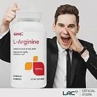 GNC健安喜 精胺酸500膠囊90顆(L-精胺酸)
