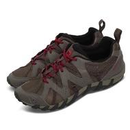 【MERRELL】兩用鞋 Waterpro Maipo 2 男鞋 登山 越野 溯溪 耐磨 黃金大底 快乾 灰 紅(ML034261)