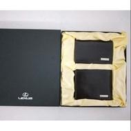 全新現貨特價出清 Lexus 全真皮 皮夾組 信用卡夾 短夾 名片夾 皮夾錢包 禮盒組