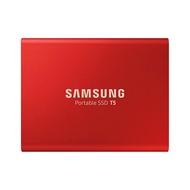 Samsung T5 Pocket Size Portable SSD 500GB USB 3.1 External SSD Red