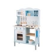 【New Classic Toys】聲光小主廚木製廚房玩具(含配件12件)- 11065