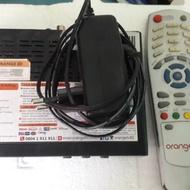 Receiver orange tv