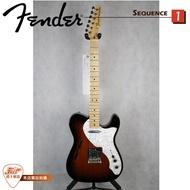 【爵士樂器】原廠公司貨保固 Fender 墨廠 Classic 69 TELE THINLINE
