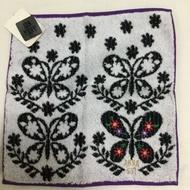 日本帶回ANNA SUI刺繡logo毛巾