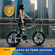 🇸🇬 Begasso 20inch Mobility Folding Mountain Bike [Free Assembly + Accessories Gift Pack]