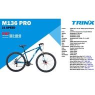 TRINX MTB 29 INCH/622 - M136 PRO - Aluminum - Shimano 21Speed (16/18 INCH)