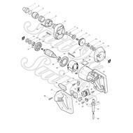[SuitOn] Makita 牧田 6801N 浪板 起子機 零件 碳刷 馬達 開關 電線
