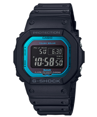 CASIO G-SHOCK GW-B5600-2 BLUETOOTH®藍牙錶(黑X藍)