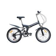 20 Inch HITO Folding Bike Ultra Light Portable Mountain Bike Male and Female Adult Lady Variable Speed Bike