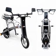 (客訂專屬)STIGO北歐設計 StigoPlus 12吋輕型合格閃電標章折疊電動自行車-灰