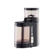 日本製 Kalita C-90 電動陶瓷磨豆機 咖啡豆 研磨機 可調9段階粗細(象牙白/ 黑)