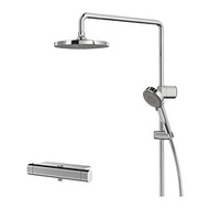 IKEA BROGRUND 蓮蓬頭附恆溫水龍頭, 鍍鉻