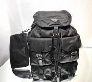 Prada 1BZ811 經典跳傘布新款子母後背包