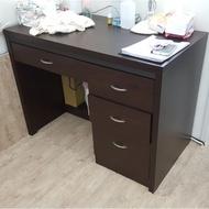 二手 良品 胡桃木色 書桌 自取 或 貨運