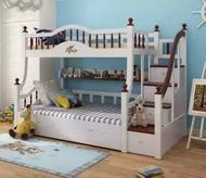 綠巨人家具網*Ayers暢銷歐美實木上下床多功能雙層床高架床,樂天雙11