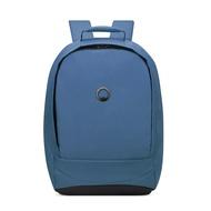 【DELSEY】SECURBAN-15.6吋筆電後背包-藍色 00333460002