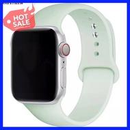 Hotsale! สินค้าดี มีคุณภาพ ราคาถูก Alva's ร้านขายอุปกรณ์โทรศัพท์ม☼✁✒พร้อมส่ง‼️สายสำหรับ Apple Watch สีมาใหม่ series 6 5 4 3 2 1 สำหรับ applewatch ขนาด 42m