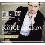 (絕版)MIR291 柯洛班尼可夫/史克里亞賓,貝多芬&蕭士塔高維契 Korobeinikov/Oeuvres de Beethoven,Chostakovitch&Scriabine (MIRARE)