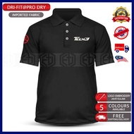 Polo T Shirt Dry Fit Yamaha Tech3 MotoGP Motorcycle Motosikal Superbike Racing Team Bike Casual SRL 125Z LC RXZ TZM Y15