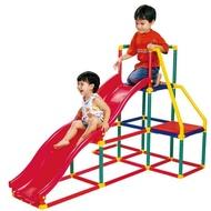【智高Gigo】我的健身房( 溜滑梯組 / 雙滑梯 ) 攀爬架 (公司貨) #3604-CN