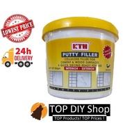 KTH Putty & Wood Filler Filling Cracks & Holes- White ( 500gm)
