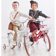 日本iimo 兒童腳踏車16吋-經典紅