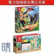 全新現貨,健身環大冒險,switch主機,電力加強版,動森主機,台灣公司貨,Nintendo,Switch